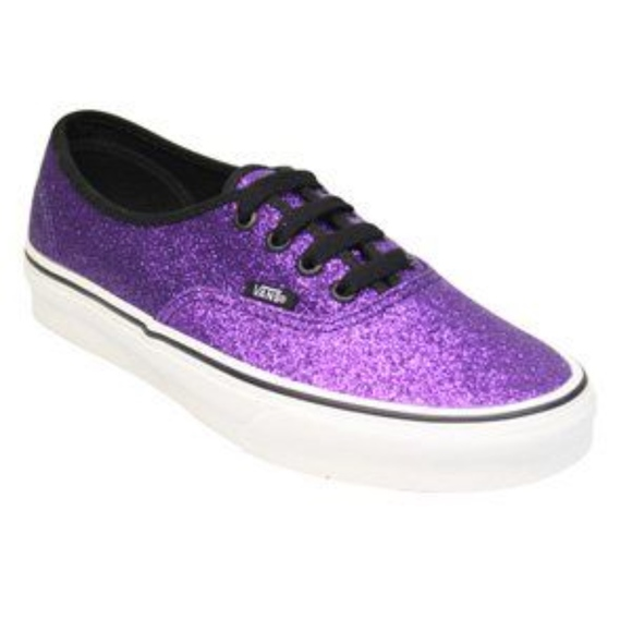 Final Price Vans Purple Glitter Classic